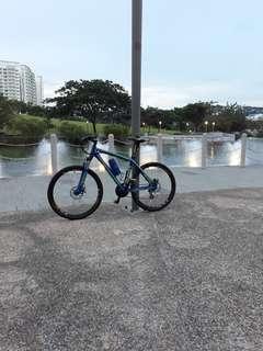 Aloeca blue off road bike