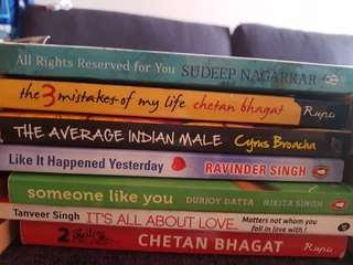 Indian  Author 7 Books