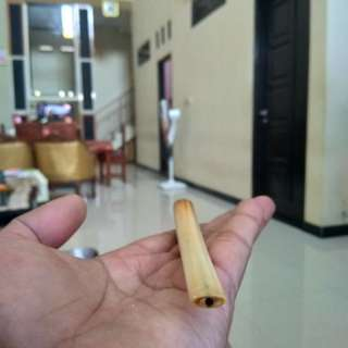 original pipe made of elephant ivory