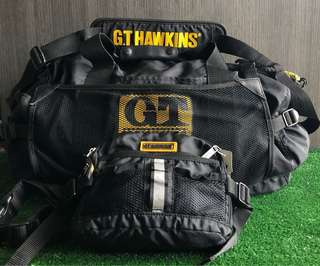 Travel Bag & Waist Bag GT HAWKINS combo