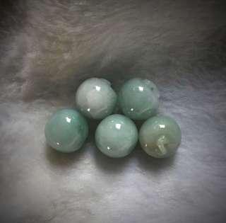 Apple Jade Beads