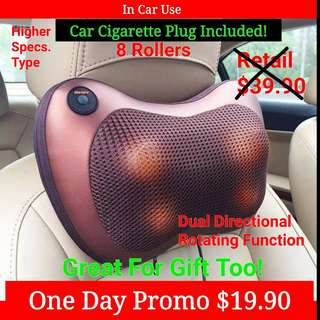 Neck Massager In Car Or Home Use