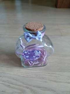 花型許願星瓶 flower shaped glass container