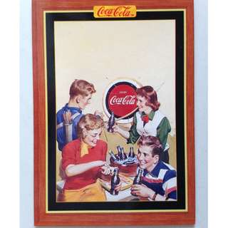 1995 Coca Cola Series 4 Base Card #362 - H. Sundblom - 1952