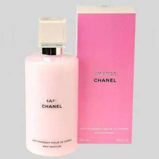 Authentic Chanel Chance Body Moisture