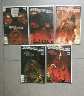Sandman Mystery Theatre issues 1 to 5 Vertigo comic Sleep of Reason