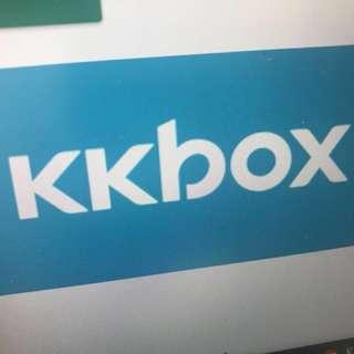 Kkbox 120天白金帳號
