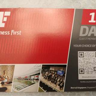 Fitness First 1 Day Guest Membership