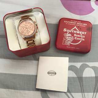 Authentic Fossil Watch BQ1774
