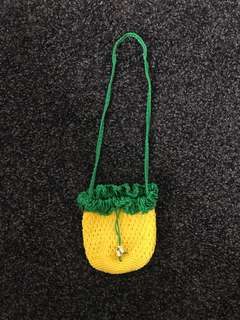 Pineapple Knitted Bag