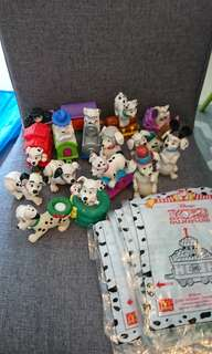 McDonald happy meal toys - dalmantians
