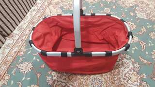 Foldable Picnic Basket Pre Loved