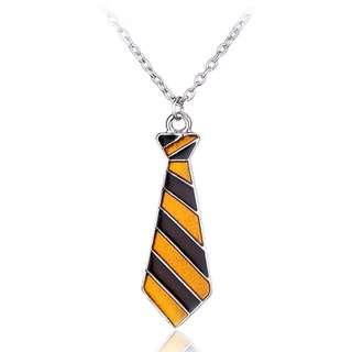 Gryffindor tie Necklace; Harry Potter Hogwarts Mystery; Ravenclaw Hufflepuff Slytherin House;
