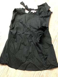 Designer top black