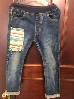 🚚 男童牛仔長褲