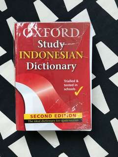 Oxford Study Indonesian Dictionary