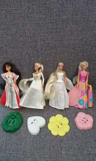 McDonald happy meal toys - Barbie yr1995