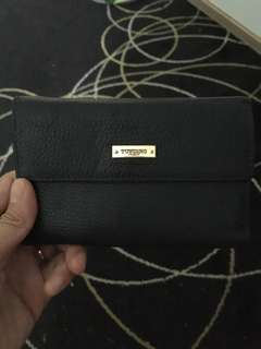 Tocco Toscano small black wallet