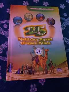 Buku kisah 25 Nabi dan Rasul..used..good condition