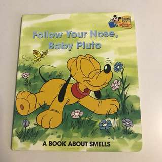 Disney Storybook - Follow Your Nose, Baby Pluto