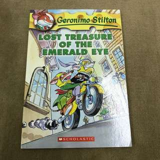 Geronimo Stilton Lost Treasure of the Emerald Eye