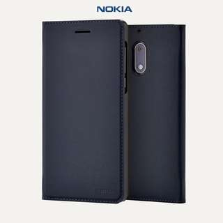 全新 Nokia 6 Official Slim Flip Cover Phone Case 原廠皮套