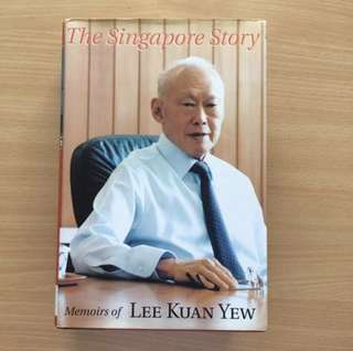 Memoirs of Lee Kuan Yew - The Singapore Story (Used)