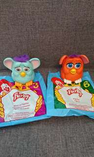 McDonald happy meal toys - Furby yr1998