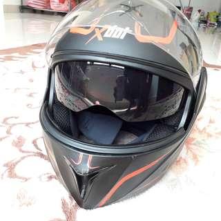 Xdot helmet flipup fullface