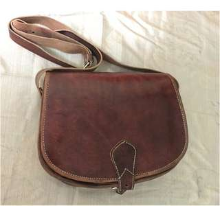 Brand New Leather Sling Bag