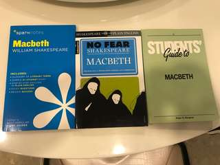 Macbeth students guide books