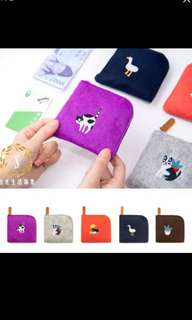 (Ready stock)Lady girls small pouch coin wallet