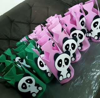 Panda goodie bags for giveaways