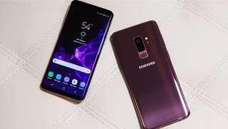 Samsung Galaxy S9+ 128 GB kredit tanpa kartu kredit