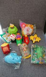 Mcdoanld happy meal toys $20 each