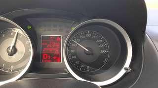 Evo X speedometer