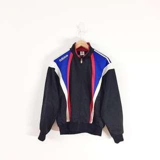 Adidas Vintage 3 Stripes Full Zip Track Jacket