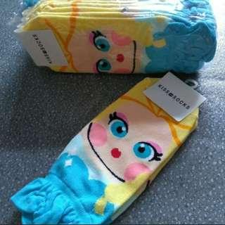 (Last Bundle of 10) Elsa design socks