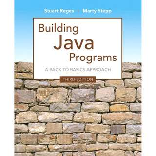 Building Java Programs A Back to Basics Approach 3rd edition