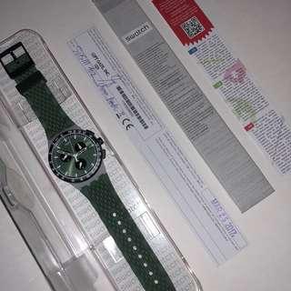 Swatch Plastic Chrono - Green