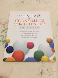 Essentials of Counselling Competencies (Book)