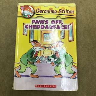 Geronimo Stilton Paws off, Cheddarface!