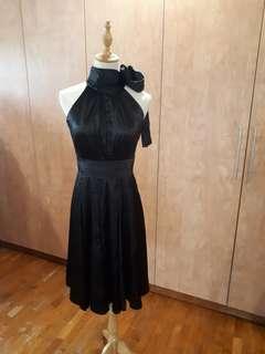 Bysi gala Dinner prom wedding gothic goth lbd Dress