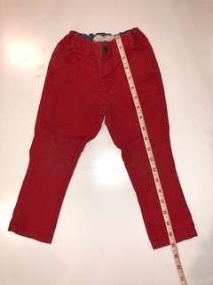 H&M Red Pants for boys 1.5-2 years
