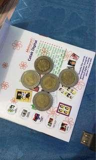 Coin 1000 kelapa sawit tahun 1993,1996,2000