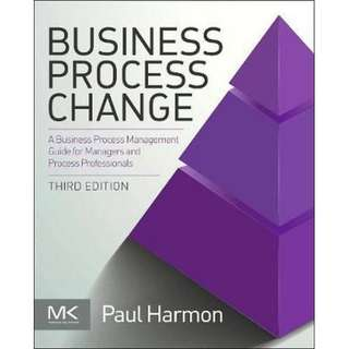 Business Process Change 3rd edition