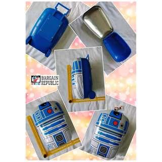 Star Wars Wheeled Small Luggage Tin Can