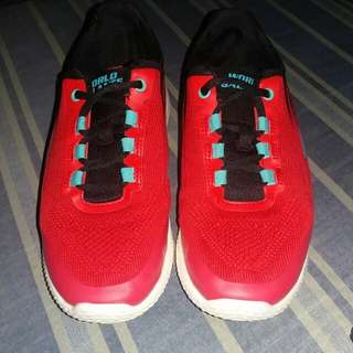 WB Red Running Shoes