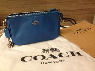 Flash sale : Coach wristlet with chain strap