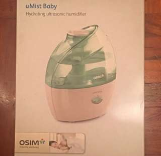 OSIM uMist Baby 超音波保濕精靈 OS-601 (只用過一次)